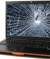 Laptop crack screen
