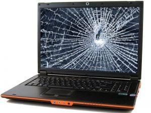 Laptop Cracked Screen Repair