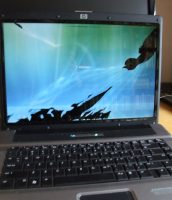 Homestead laptop cracked screen