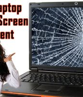 Kendall Laptop Cracked Screen